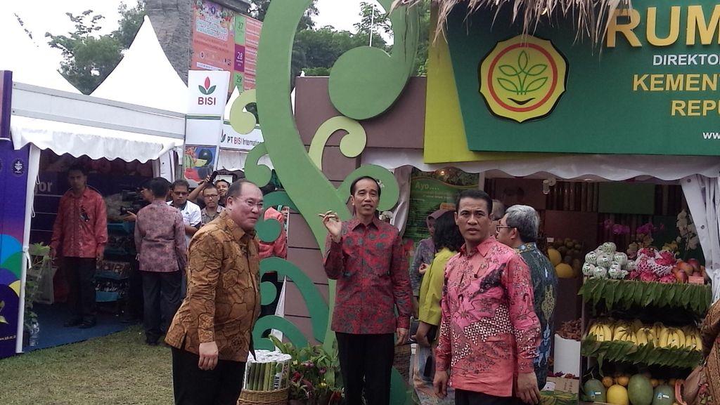 Jokowi Perintahkan Daerah Siapkan Lahan untuk Ditanami Buah