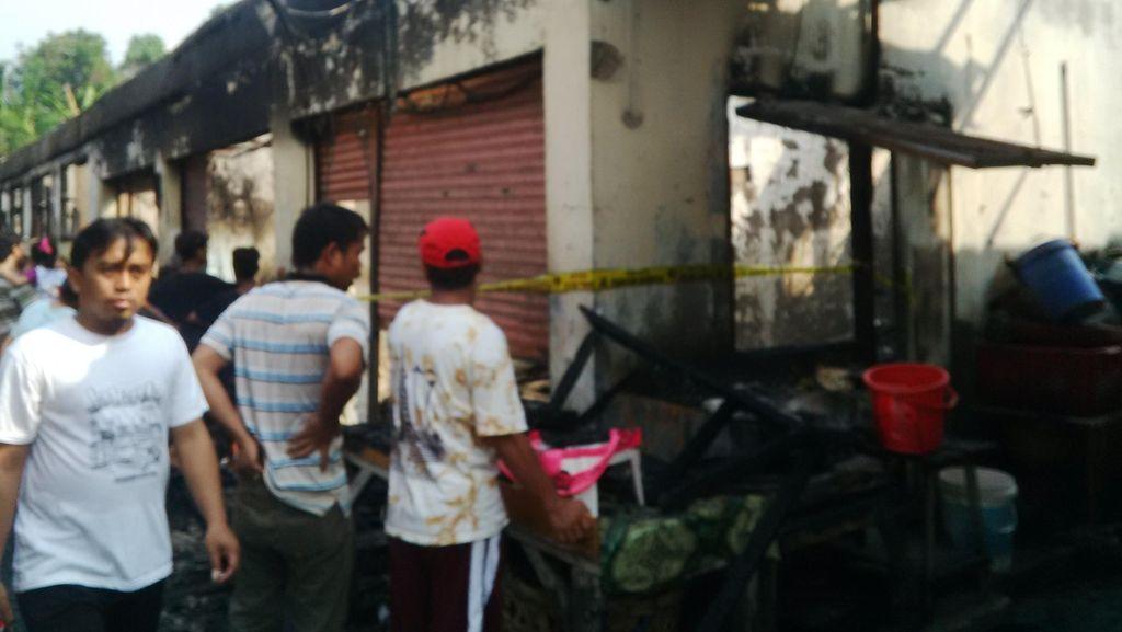 Kebakaran Rumah di Duren Tiga Diduga Karena Ledakan Tabung Gas