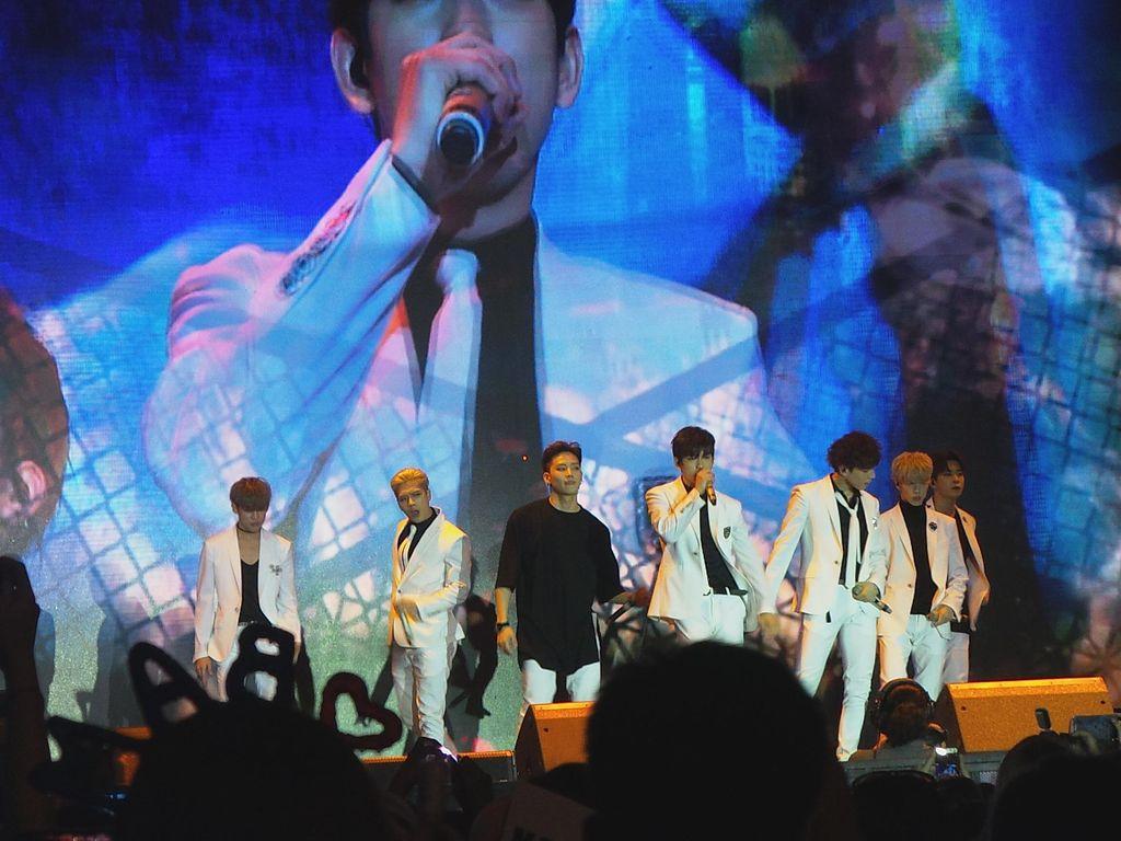 Just Right! GOT7 Puaskan Fans dengan Pertunjukan Live Memukau