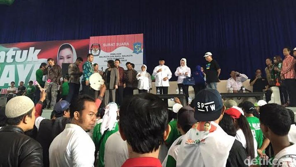 Calon Wali Kota Rasiyo Klaim Telah Tumbangkan Elektabilitas Risma