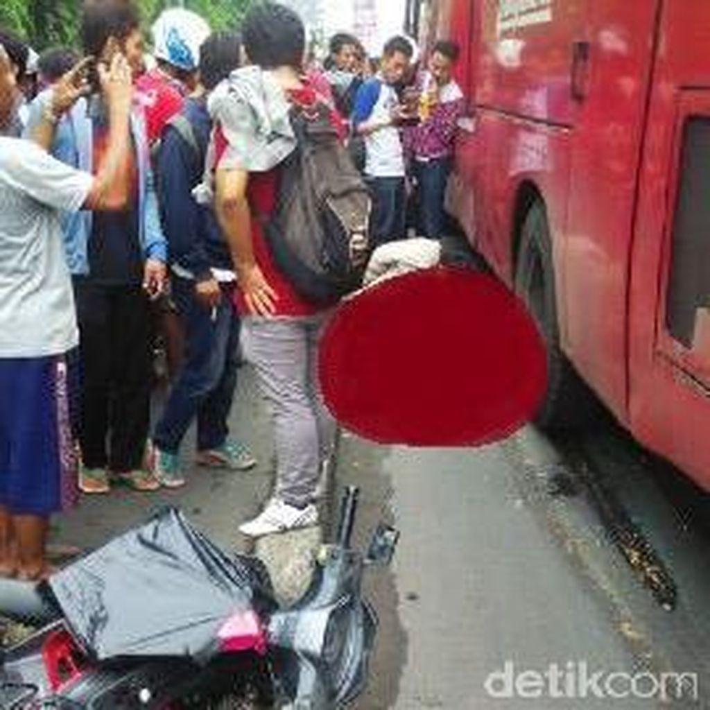Separator <i>Busway</i> akan Ditinggikan untuk Cegah Terjadinya Kecelakaan