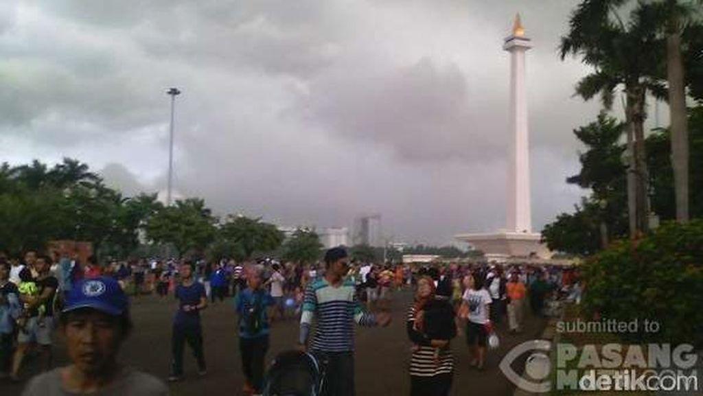 Peringatan Dini Cuaca BMKG: Jakarta Angin Kencang, Bogor Hujan Deras