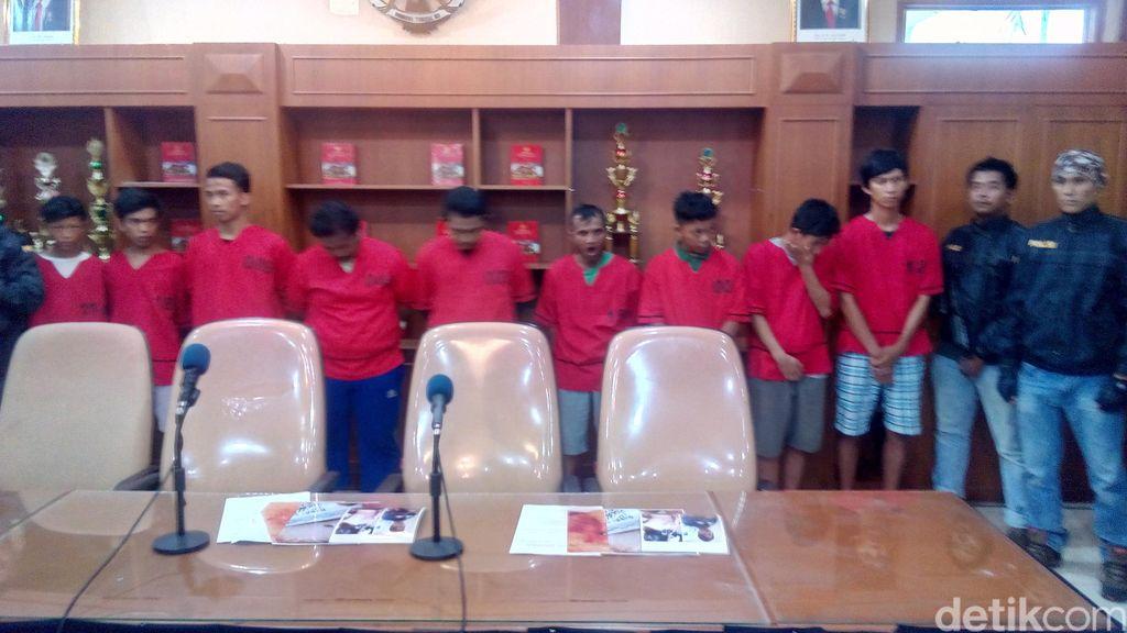 12 Pelaku Tawuran di Johar Baru Ditangkap, Penembak Rivaldo Diburu