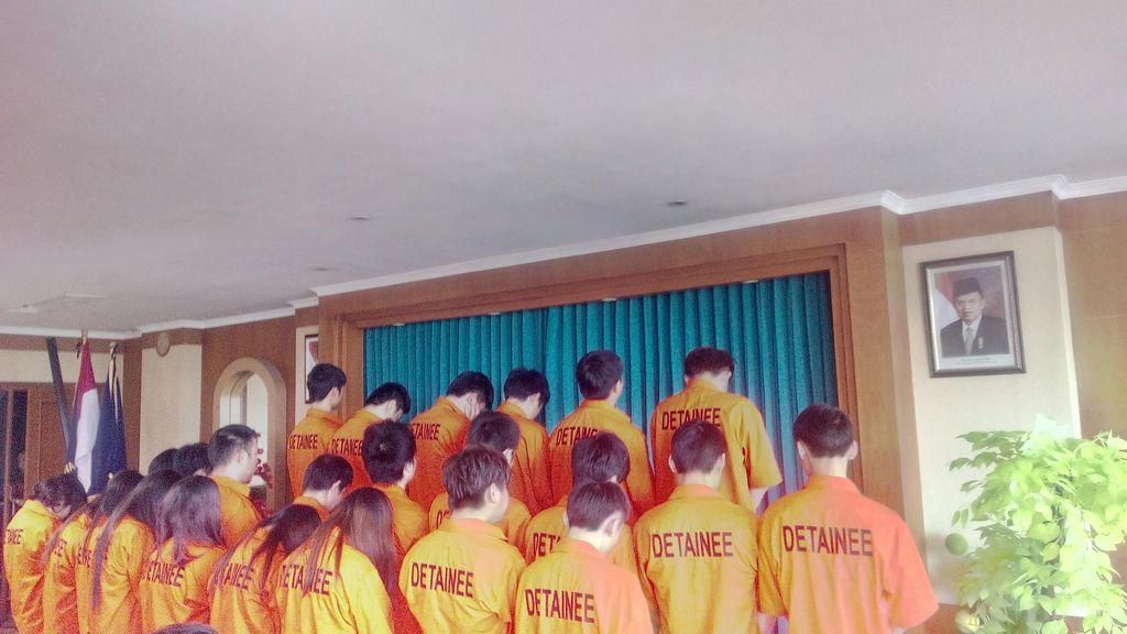 Tak Punya Izin Tinggal, 25 Warga Cina Diamankan Petugas Imigrasi