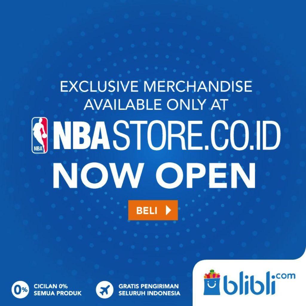 Luncurkan Toko Online Untuk Penggemar Asia Tenggara, NBA Gandeng Blibli.com