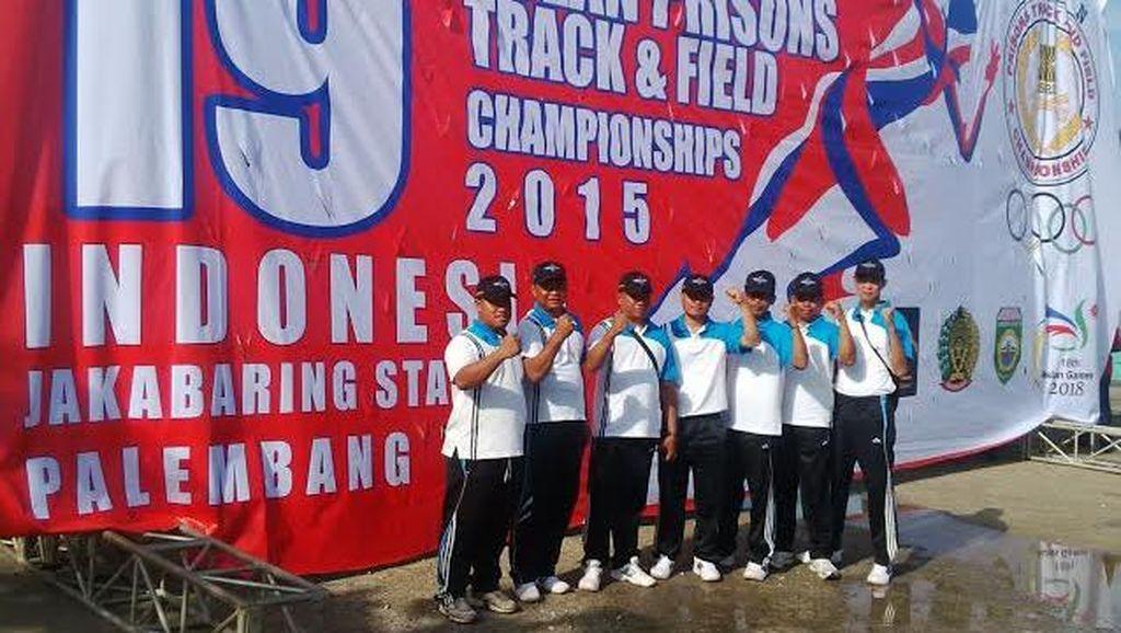 Palembang Tuan Rumah Kejuaraan Atletik Petugas Penjara Se-ASEAN