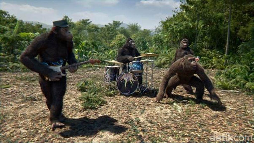 Terinspirasi Planet of the Apes, Coldplay Jadi Monyet di Video Klip Baru