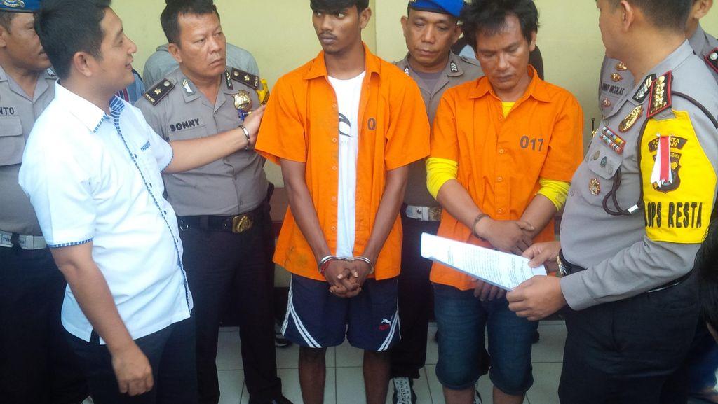 2 Penembak Wartawan Peliput Begal di Medan Dibekuk!