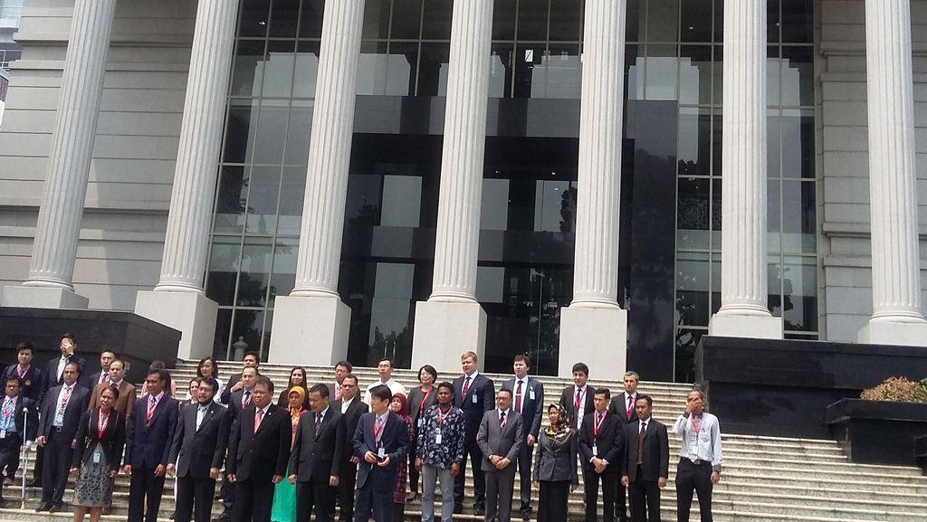 Bahas Sistem Peradilan, 14 Negara Ikut Kursus Singkat di MK