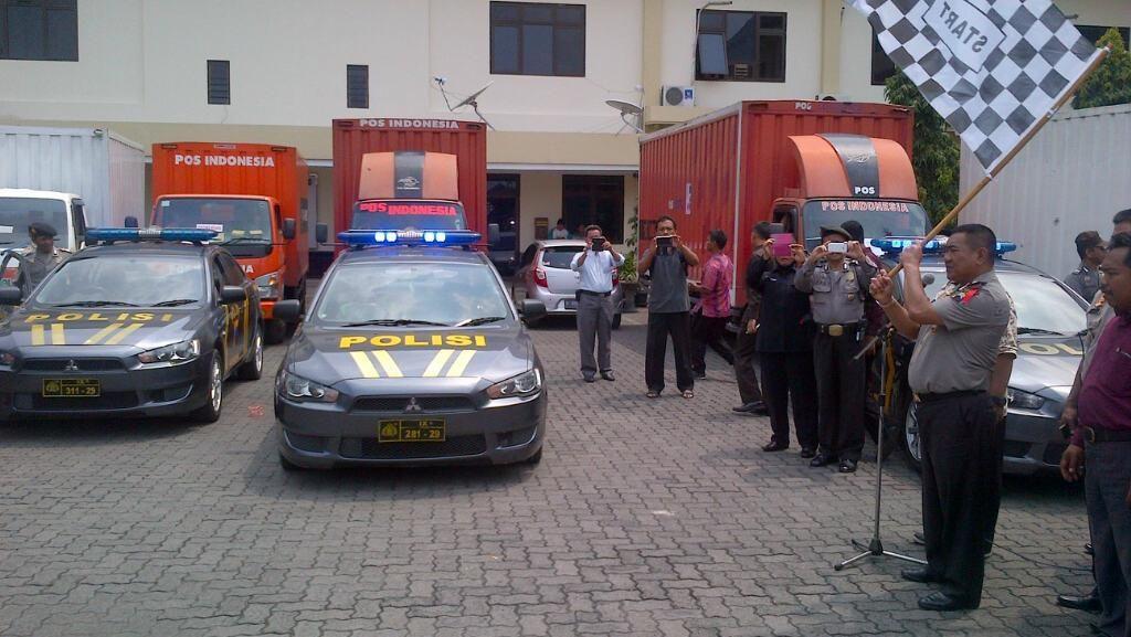Dari Kudus, 1 Juta Surat Suara Didistribusikan ke Kota Semarang