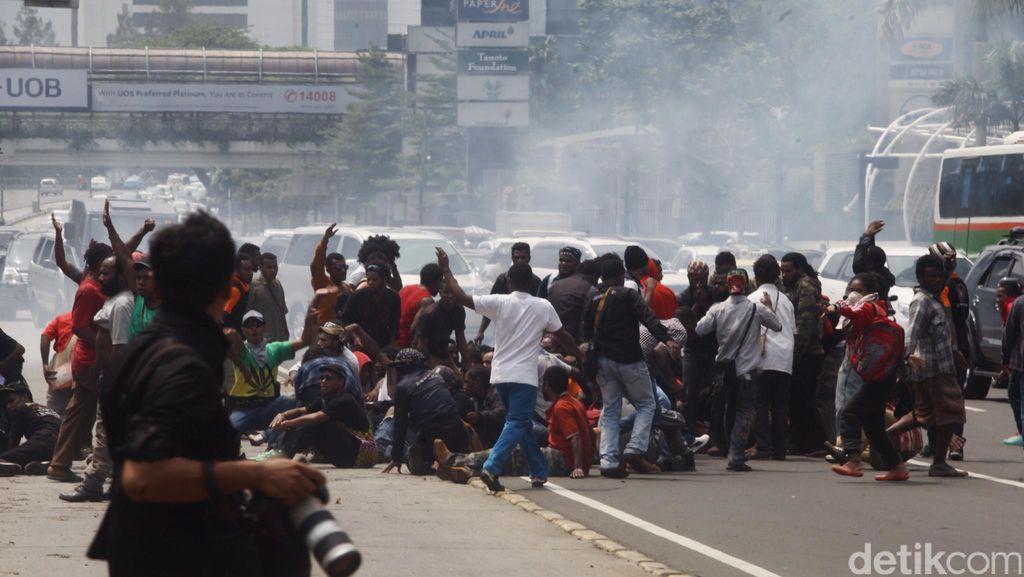 Mahasiswa Papua Pendemo Anarkis Akan Dipulangkan, Proses Hukum Tetap Jalan