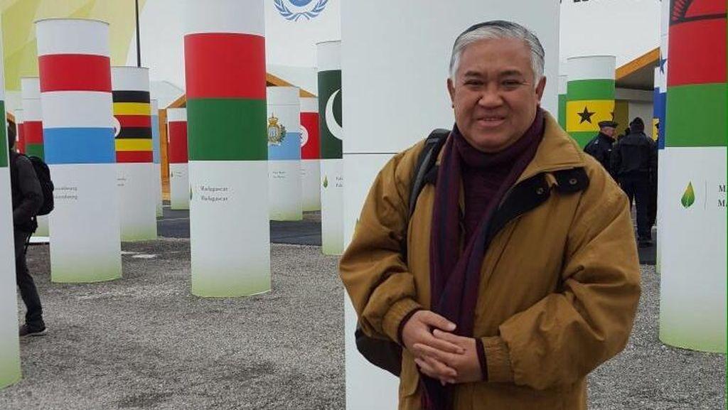 Din Syamsuddin Jadi Pembicara di Paviliun Indonesia di COP-21 Paris