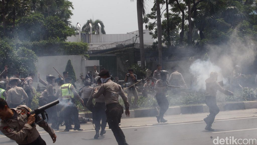 Polda: Demo Aliansi Mahasiswa Papua Ilegal