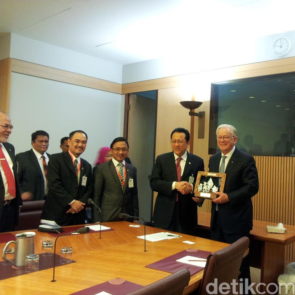 Delegasi DPD RI Temui Mendag Australia Bahas Percepatan Kerja Sama
