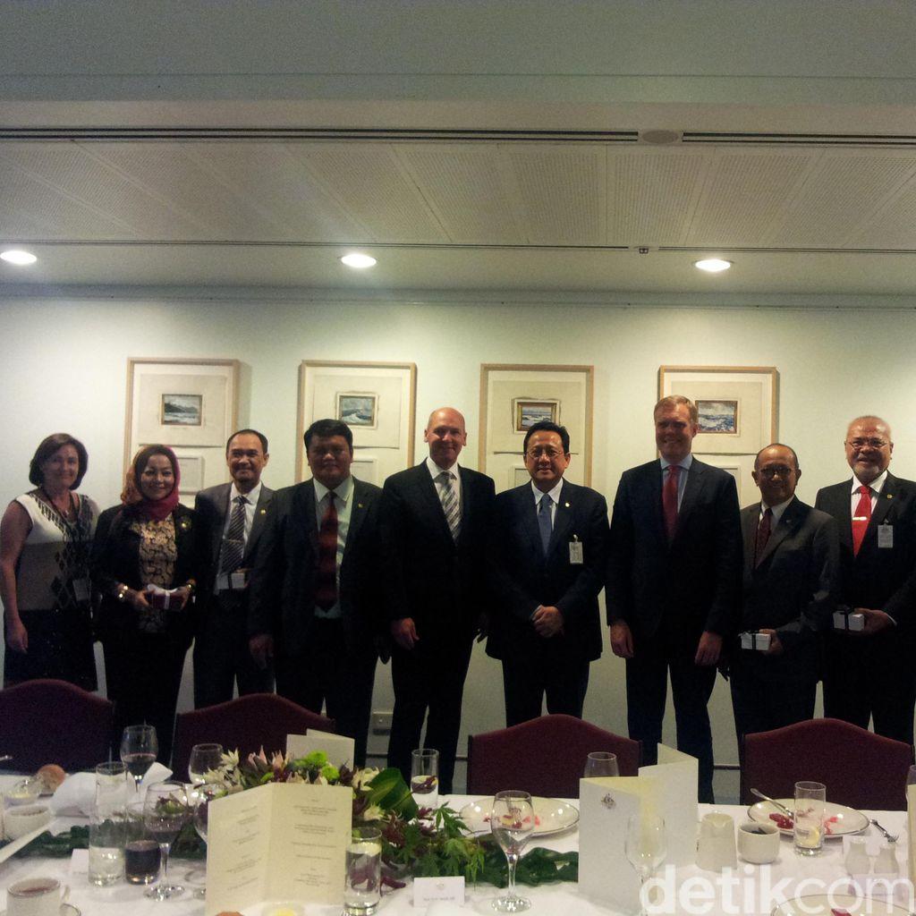 Dijamu Parlemen Australia, Ketua DPD Bicara Penguatan Kemitraan Kedua Negara