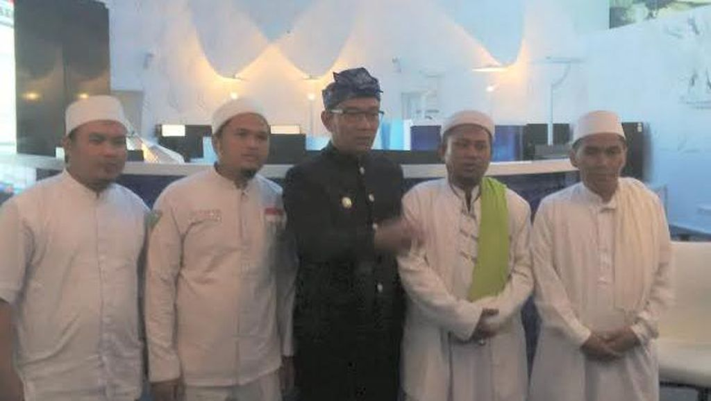 Ridwan Kamil Coba Jembatani Perdamaian AMS dan Habib Rizieq