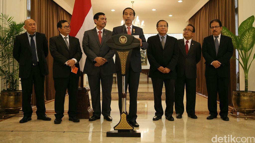 Jokowi: Ambil Keuntungan Sebesar-besarnya dari Rivalitas Amerika-China