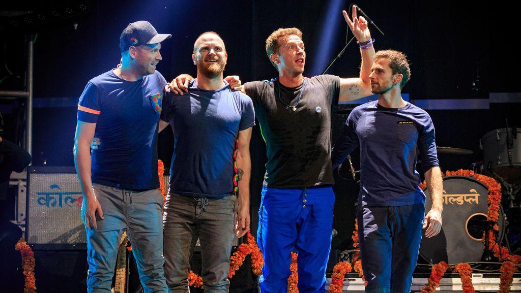 Coldplay Siap Cetak Sejarah Baru di Brit Awards 2016