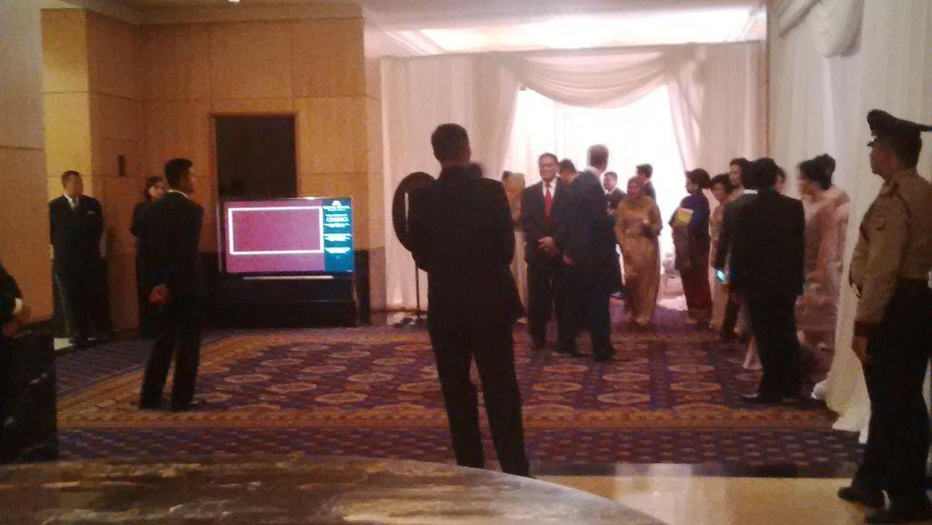 Pernikahan Putri Novanto di Hotel Mulia Diamankan Pengamanan Dalam DPR