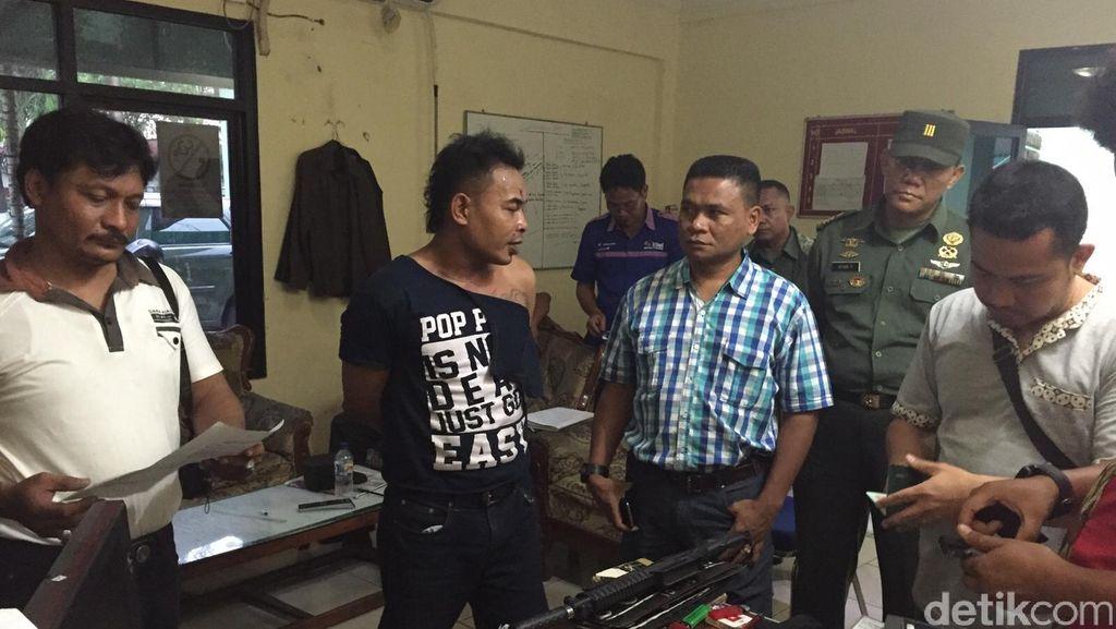 TNI Tangkap Polisi Gadungan Pelaku Penipuan di Jakarta Utara
