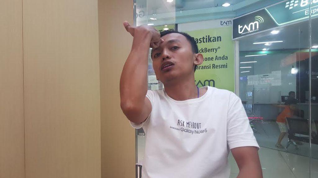 Pegawai Gerai Samsung: Eks Petinggi Pelindo III juga Todong Dahi Saya