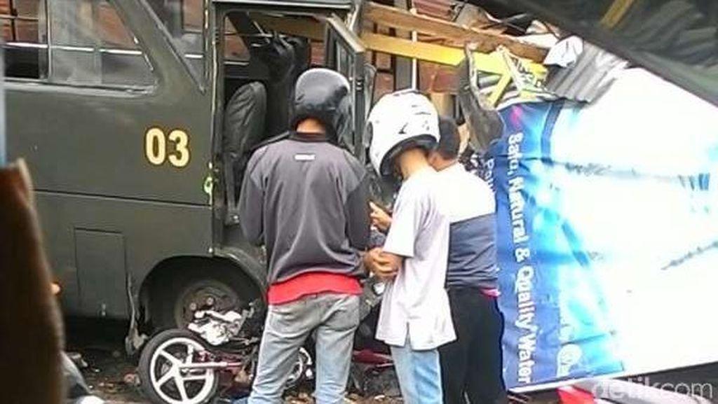 Korban Tewas Kecelakaan Bus di Puncak Dapat Santunan, Ini Identitasnya