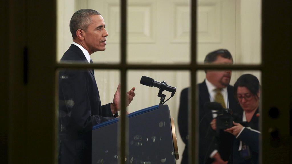 Obama: ISIS Terus Digempur dengan Kekuatan Dahsyat