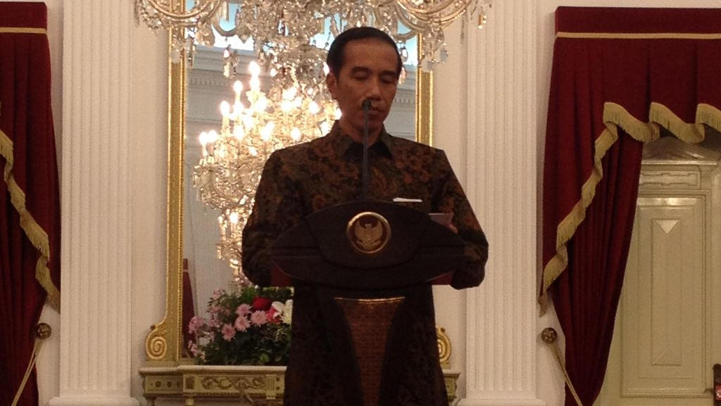 Sebelum Dilantik, Gubernur dan Wagub Jalan Bersama Jokowi-JK di Istana