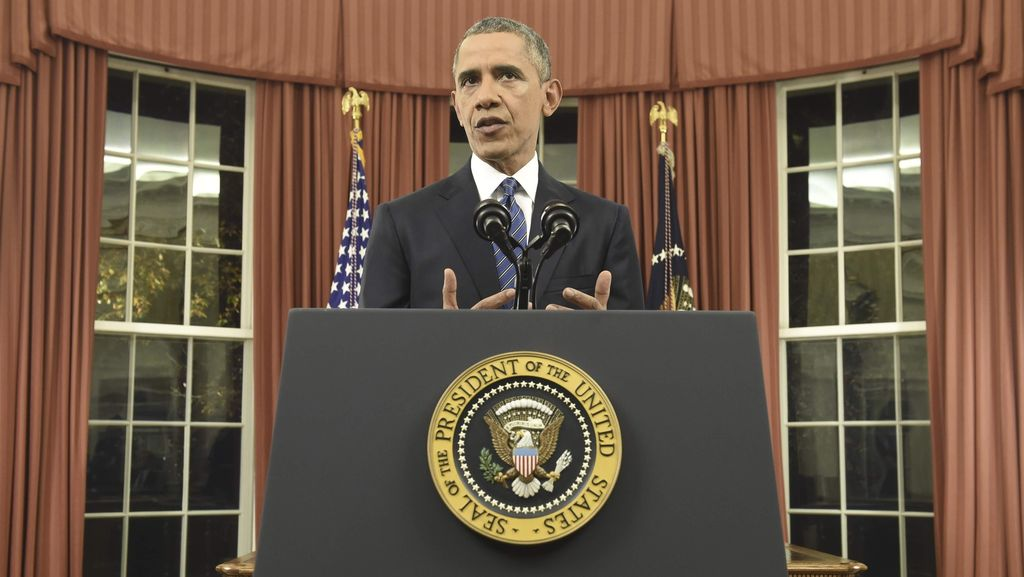 Hadiri Kampanye di Philadelphia, Obama Doakan Hillary Lekas Sembuh