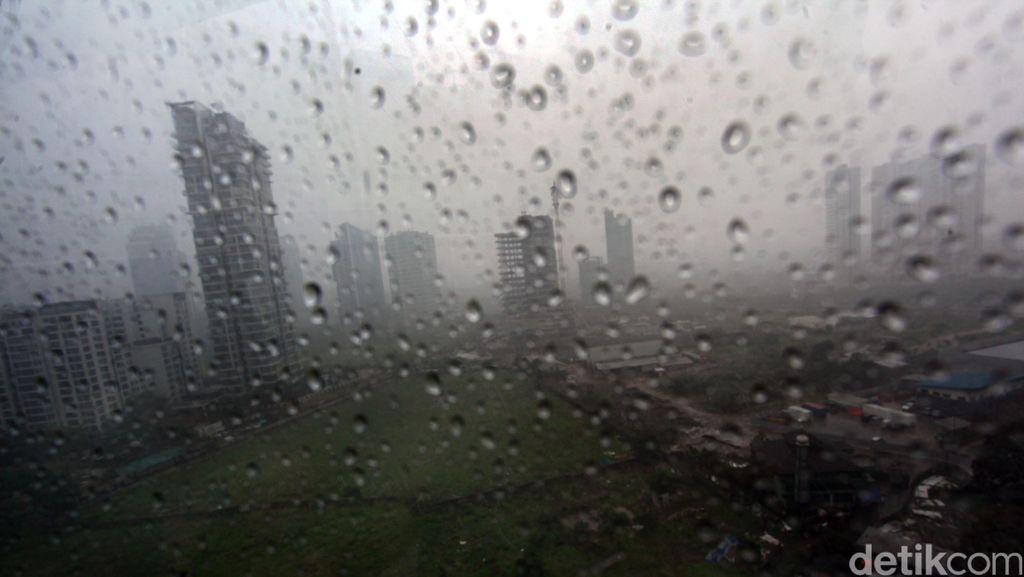 Ini Daerah di Jabodetabek yang Hujan Deras Hingga Malam Nanti