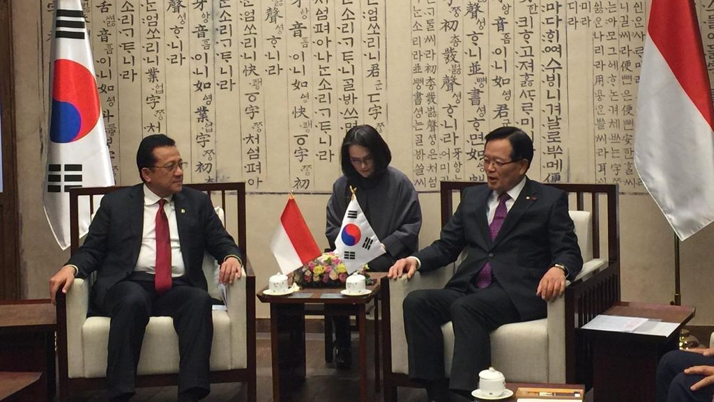 Indonesia dan Korsel Akan Miliki Dewan Kemitraan Bisnis Bersama