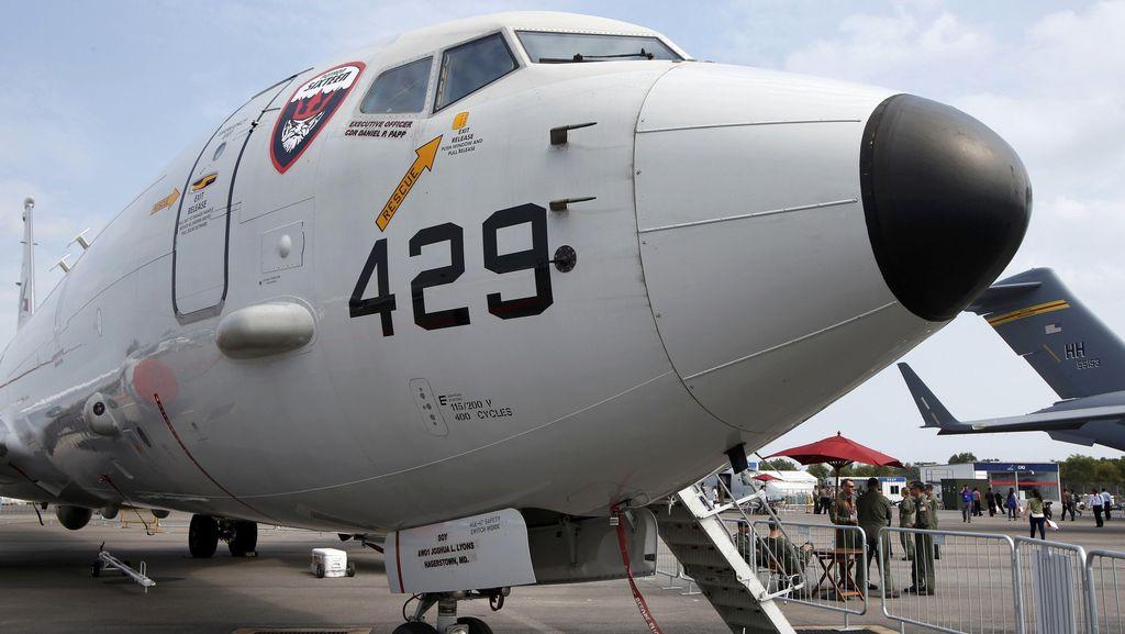 Laut China Selatan Tegang, AS Kerahkan Pesawat Pengintai P8 ke Singapura