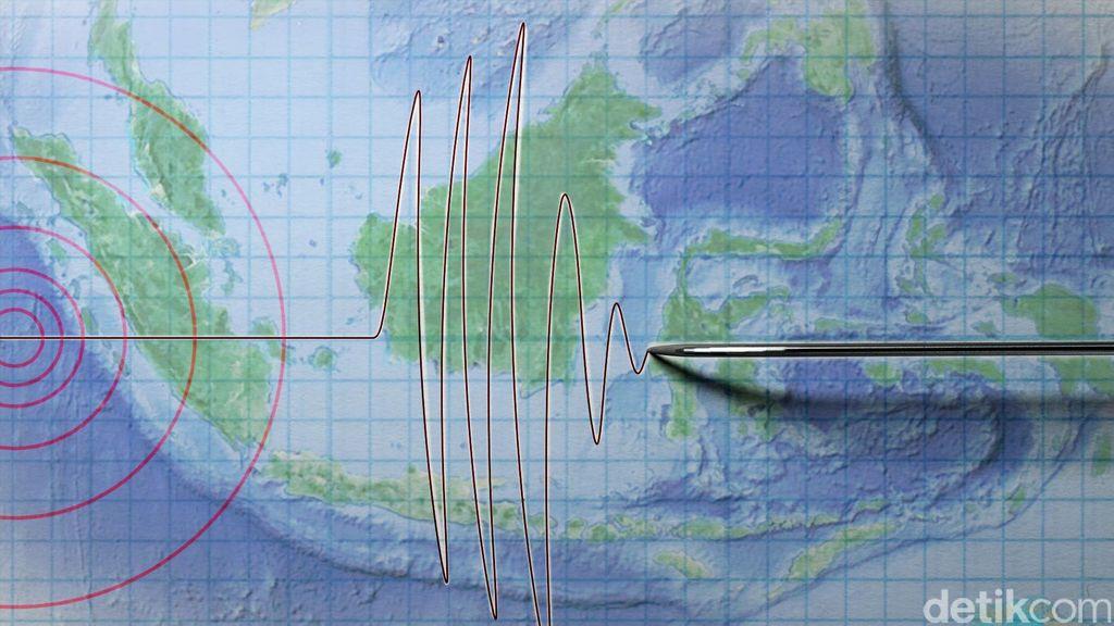 Gempa Berkekuatan 5 SR Guncang Aceh Jaya
