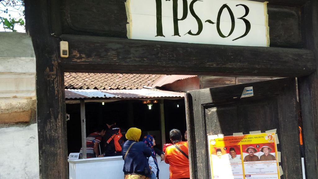 Ada TPS di Surakarta yang Kekurangan Kartu Suara, KPPS Nervous