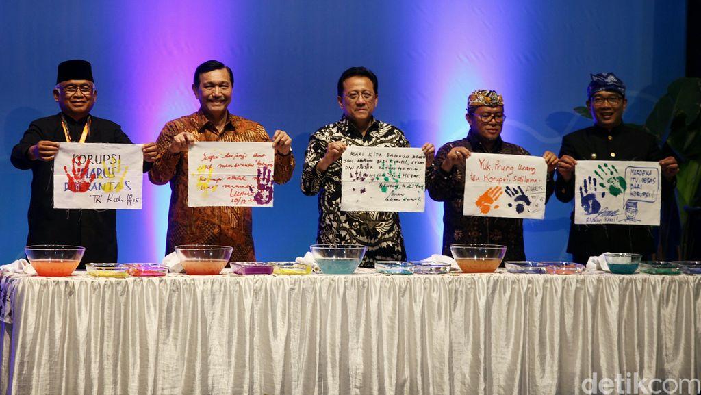 Hadiri Festival Antikorupsi,  Ketua DPD: Mari Bangun Indonesia Bersih Korupsi