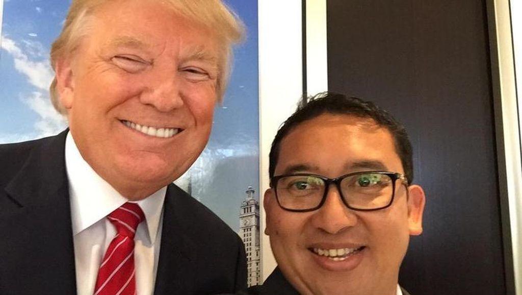 Sebut Pernyataan Donald Trump Konyol, Fadli Tak Sesali Pertemuan di AS
