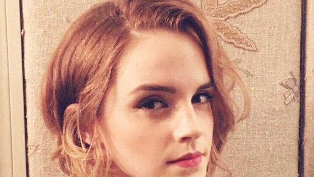 Emma Watson Ubah Gaya Rambut Lagi, Makin Cantik?