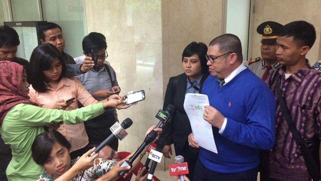 Tiba-tiba Nongol di MKD DPR, Razman Nasution: Saya Kuasa Hukum Novanto