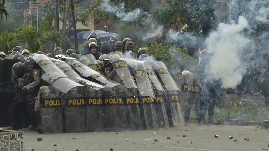 Bentrok Massa Pendukung Calon Bupati Gowa Reda, 700 Polisi Siaga