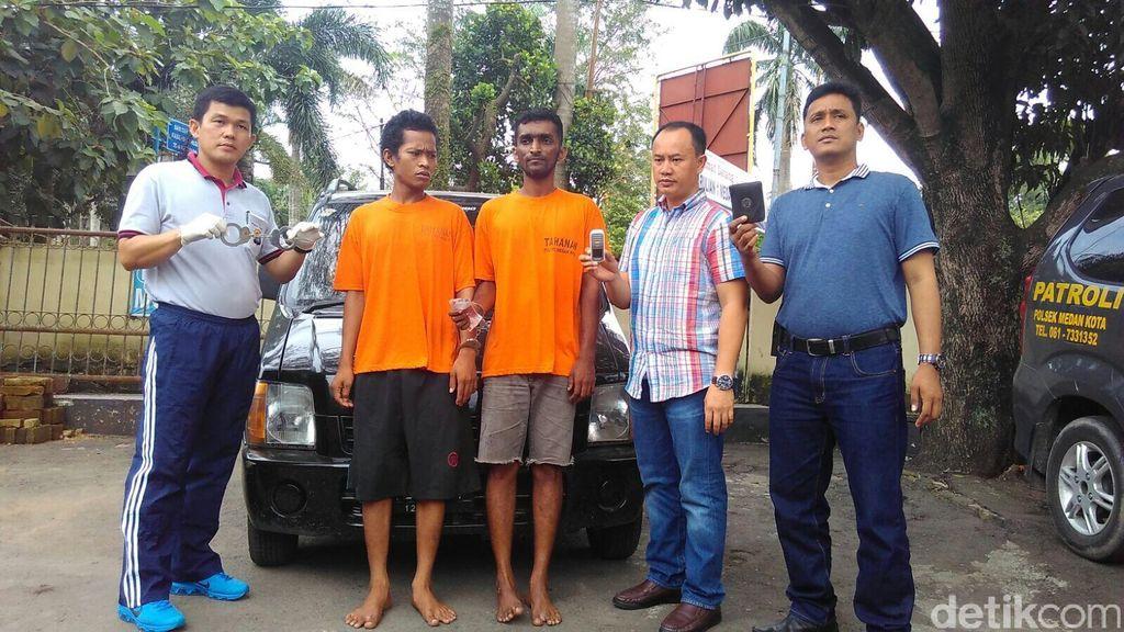 Borgol dan Peras Tamu Hotel di Medan, Polisi Gadungan ini Dibekuk