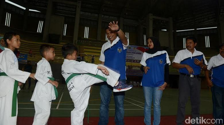Walikota Kediri Cari Bibit Olahraga Asli Daerah