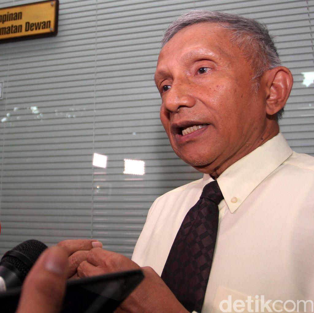Amien Rais Berharap Reshuffle Kabinet Berbuah Kerja Nyata
