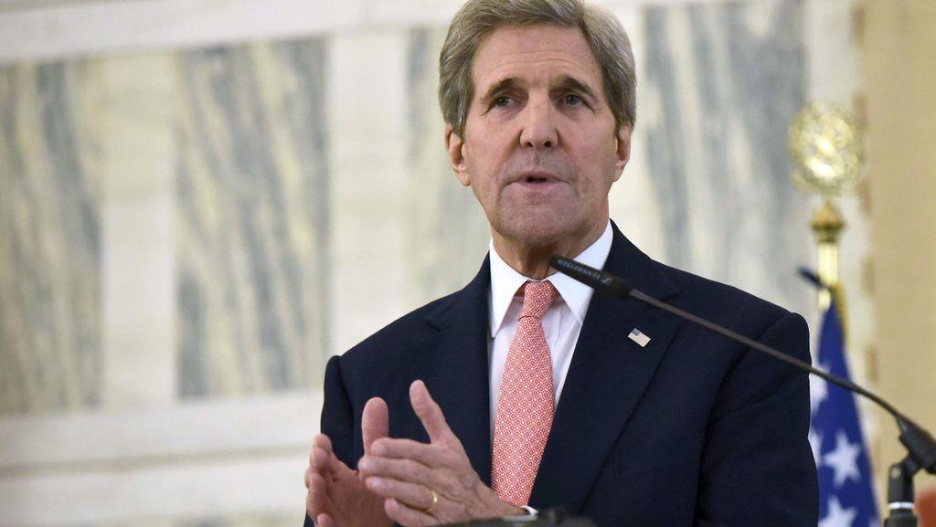 Menlu AS John Kerry Marah Terhadap Serangan di Aleppo, Suriah