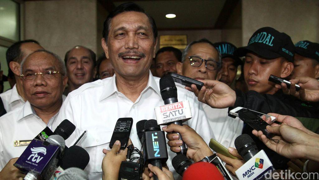Polisi di Bekasi Dipukul Marinir, Luhut: Kakak-Adik Boxing Sesekali Tak Apa