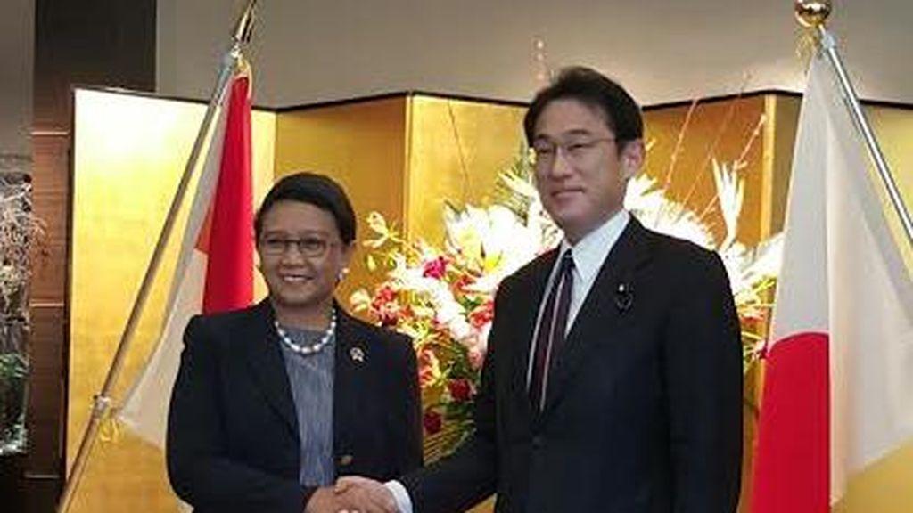 Menlu dan Menhan Indonesia-Jepang Samakan Visi Soal Laut China Selatan