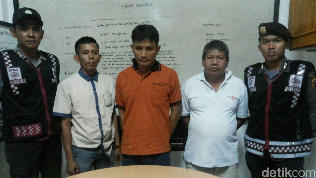 Pimpinan Ormas Kedapatan Bawa Pistol Rakitan Jelang Pleno KPUD Siak
