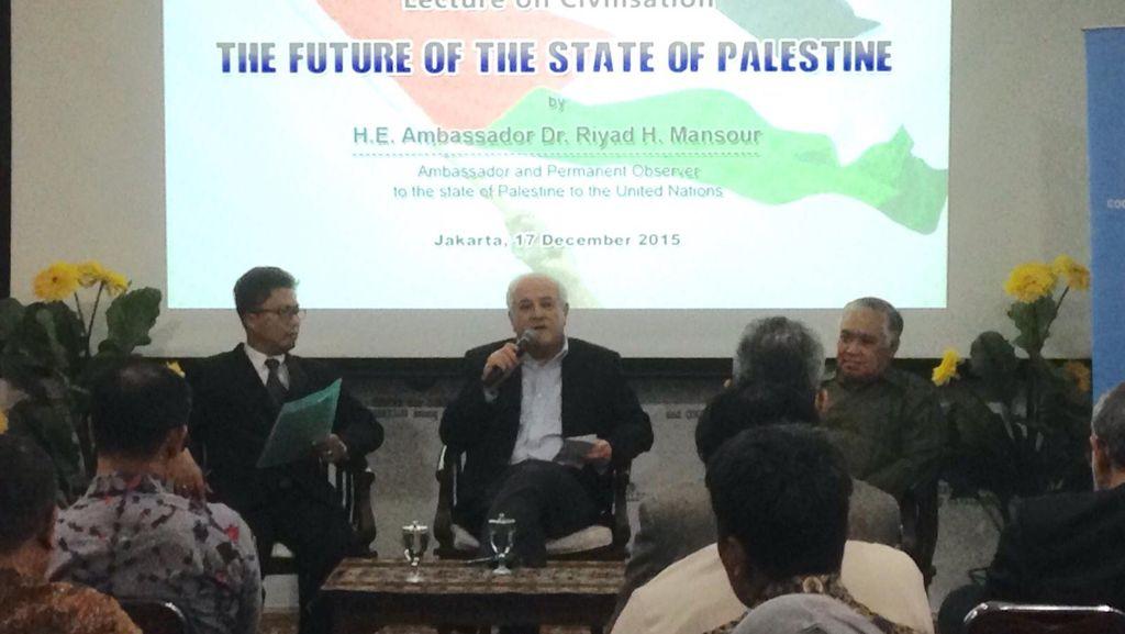 Indonesia Dukung Kemerdekaannya, Ini Kata Dubes Palestina