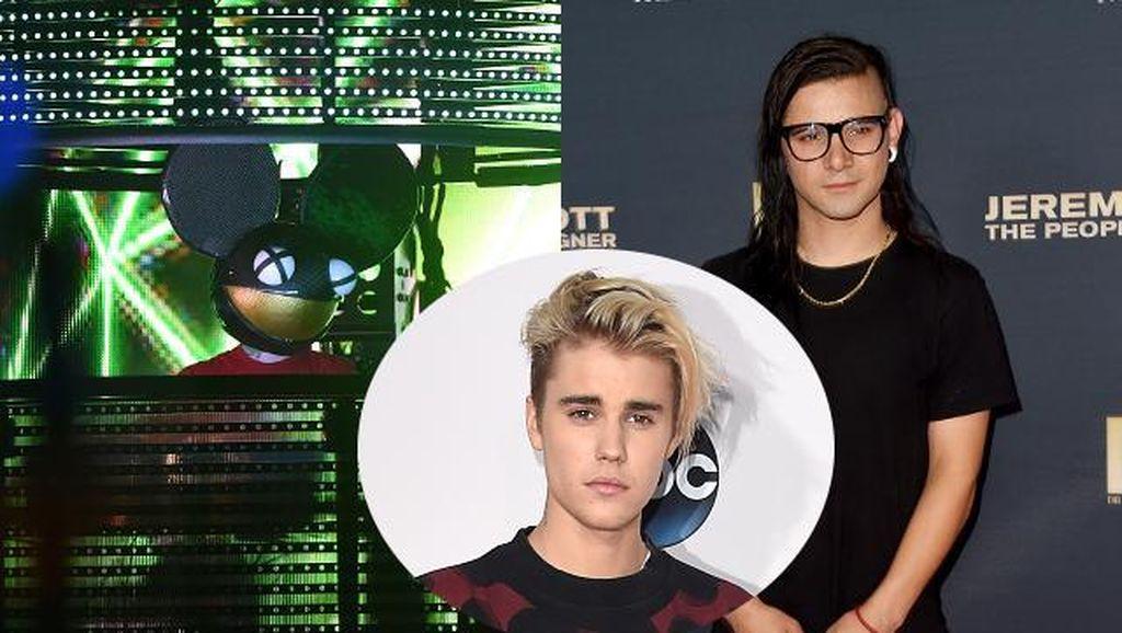 DeadMau5 Marah Besar atas Kerja Sama Skrillex dan Justin Bieber