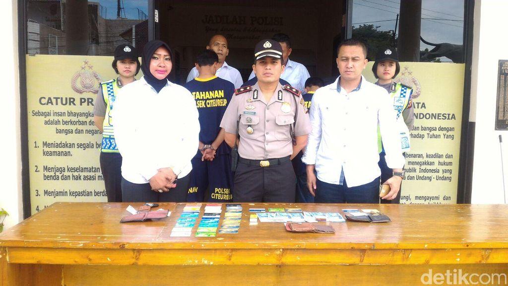 Polisi Tangkap Komplotan Pembobol ATM Jaringan Lampung di Citeureup