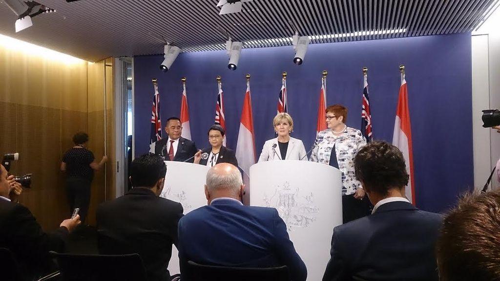 Di Depan Menteri Australia, Ryamizard Minta Asing Tak Ikut Campur Soal Papua